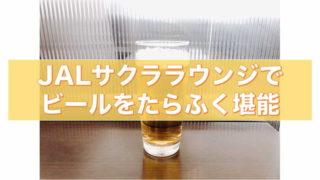 サクララウンジ ビール