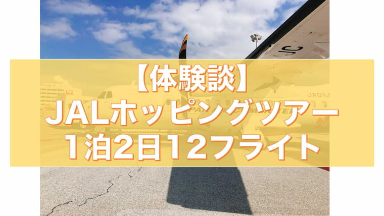 JALhジョッピングツアー12フライト