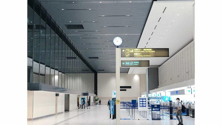 伊丹空港内
